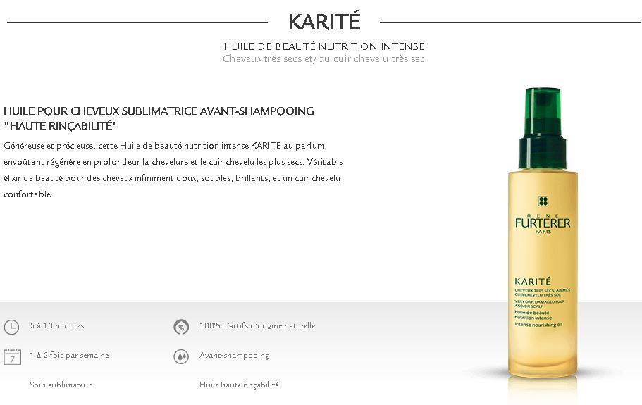 huile karité