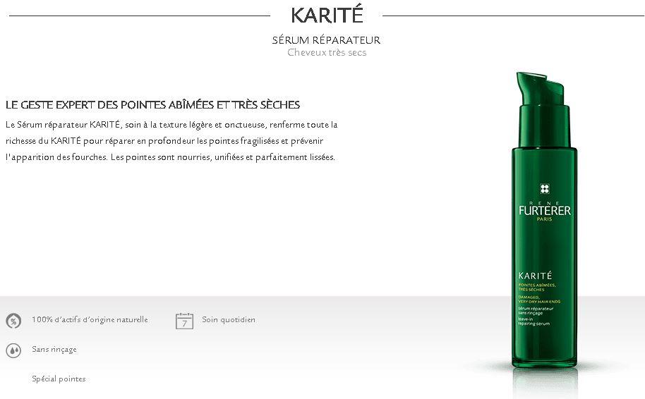 serum karité